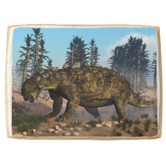 Euoplocephalus dinosaur - 3D render Shortbread Cookie