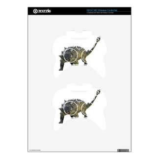 Euoplocephalus Ready to Defend Xbox 360 Controller Decal