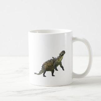 Euoplocephalus Standing and Roaring Coffee Mug