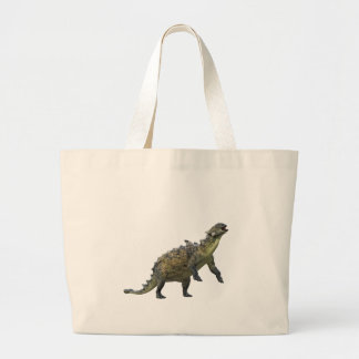 Euoplocephalus Standing and Roaring Large Tote Bag