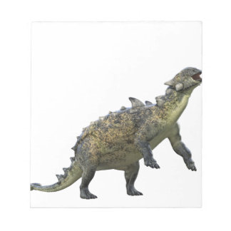 Euoplocephalus Standing and Roaring Notepad