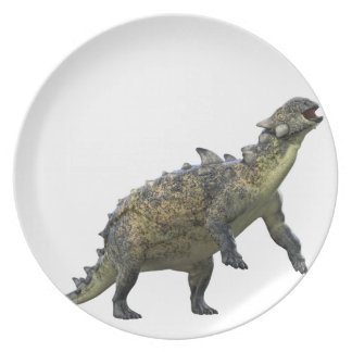 Euoplocephalus Standing and Roaring Plate