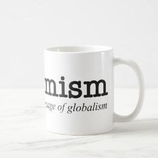 Euphemism.  The language of globalism. Coffee Mug