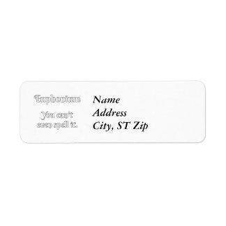 Euphonium Attitude! Label