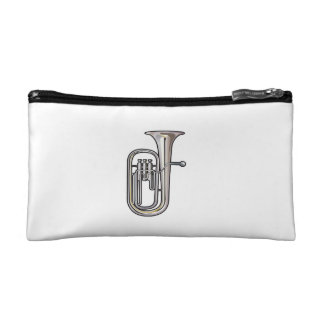 euphonium brass instrument music realistic.png cosmetic bag