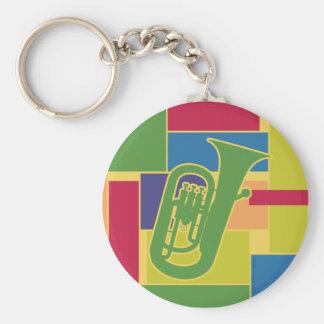 Euphonium Colorblocks Keychain