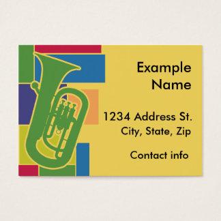 Euphonium Colorblocks Profile Card