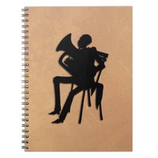 Euphonium Concert Player Notebook