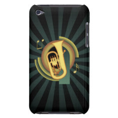 Euphonium Deco Barely There Ipod Cover at Zazzle