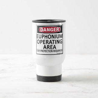 Euphonium del área de funcionamiento taza de viaje