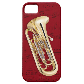 Euphonium & music phone case. Pick color iPhone SE/5/5s Case