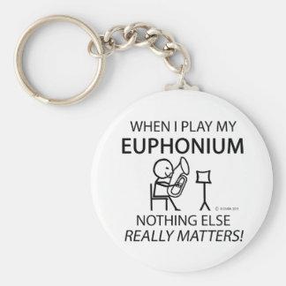 Euphonium nada materias otras llaveros personalizados