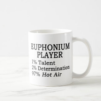 Euphonium Player Hot Air Coffee Mug