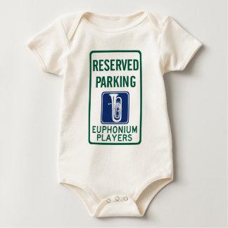 Euphonium Players Parking Baby Bodysuit