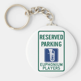 Euphonium Players Parking Key Chains