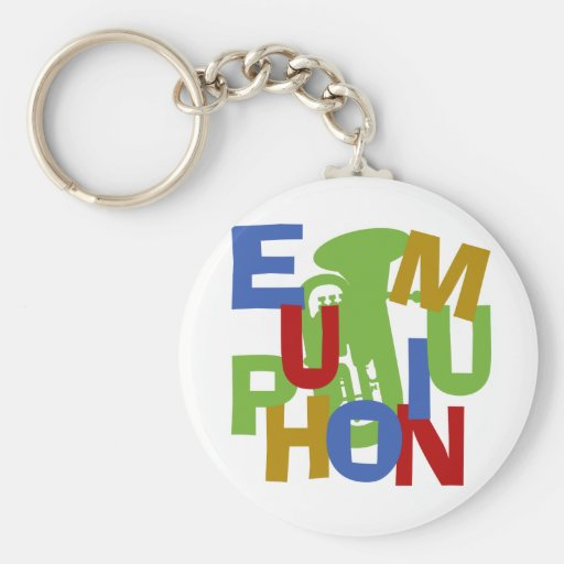 EUPHONIUM Scramble Basic Round Button Keychain