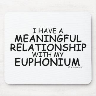 Euphonium significativo de la relación mousepad