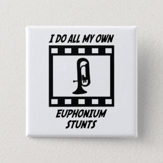 Euphonium Stunts Pinback Button