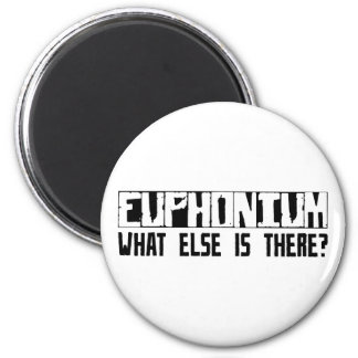 Euphonium What Else Is There? 2 Inch Round Magnet