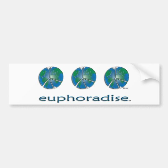 euphoradise bumper sticker