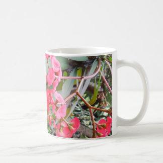 Euphorbia milii coffee mug