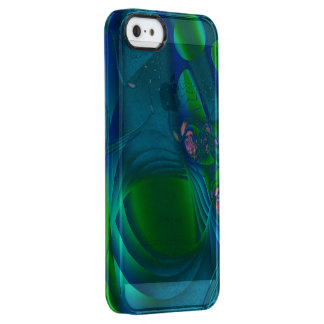 Euphoria Abstract Clear iPhone SE/5/5s Case