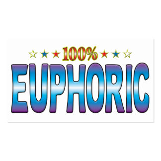 Euphoric Star Tag v2 Business Card Templates