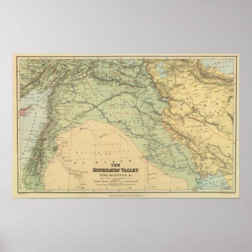 Euphrates Valley, Siria Posters