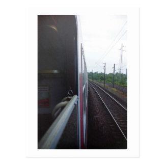 Eurail Postcards