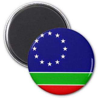 eurasia flag europe asia continent symbol magnet