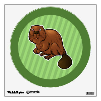 Eurasian Beaver Wall Decal