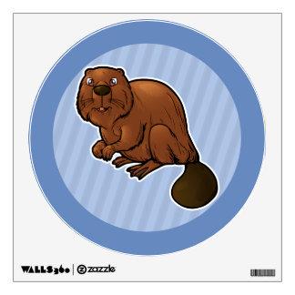Eurasian Beaver Wall Sticker