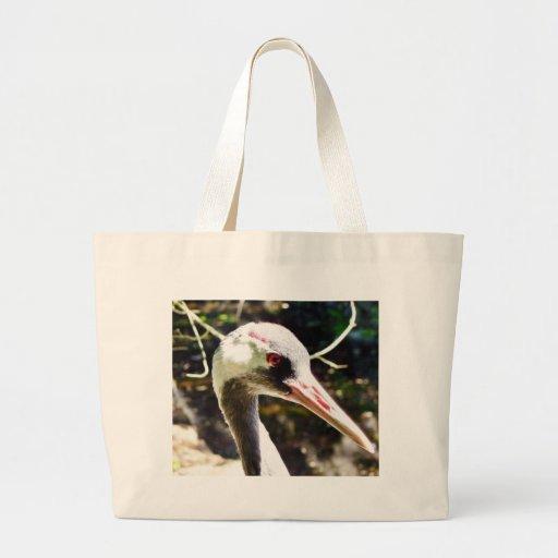 Eurasian Crane Tote Bag