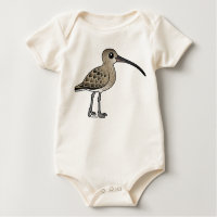 Eurasian Curlew Infant Organic Creeper