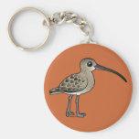 Eurasian Curlew Keychain