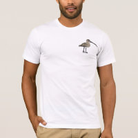 Eurasian Curlew Men's Basic American Apparel T-Shirt