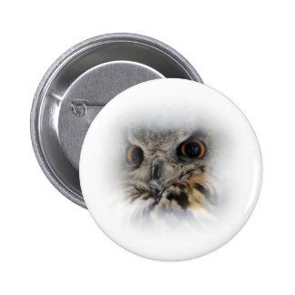 Eurasian Eagle-owl Button