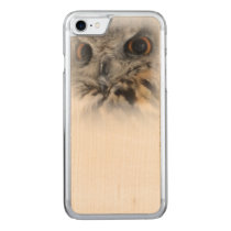 Eurasian Eagle-owl Carved iPhone 7 Case