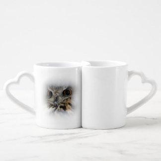 Eurasian Eagle-owl Coffee Mug Set