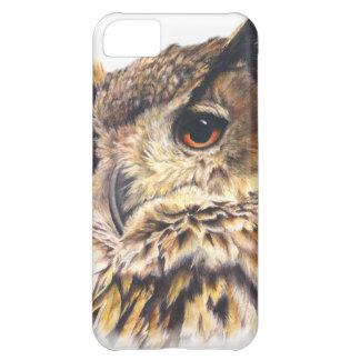 Eurasian Eagle Owl fine art iphone5 case Cover For iPhone 5C