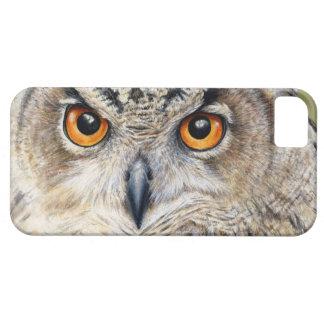 Eurasian Eagle Owl fine art iphone 5 case