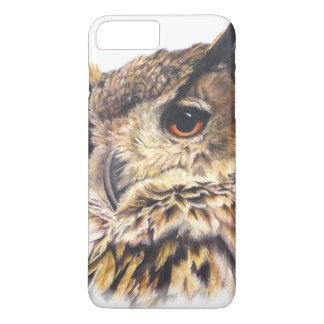 Eurasian Eagle Owl fine art iphone case