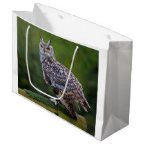 Eurasian Eagle Owl Gift Bag