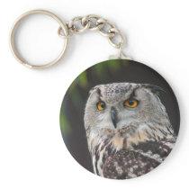 Eurasian Eagle Owl Keychain