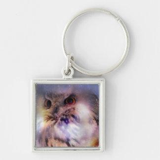 Eurasian Eagle-owl Keychain