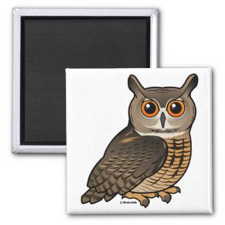 Eurasian Eagle-Owl Magnet