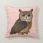 Eurasian Eagle-Owl Pillows