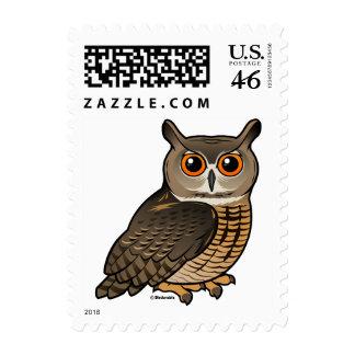 Eurasian Eagle-Owl Stamps