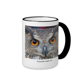 Eurasian Eagle Owl Ringer Mug