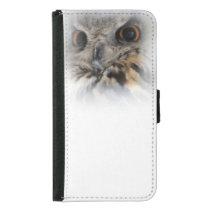 Eurasian Eagle-owl Samsung Galaxy S5 Wallet Case